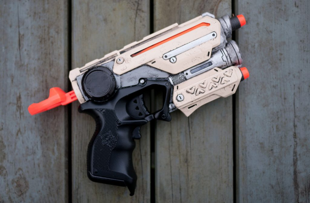 Custom painted Nerf Firestrike