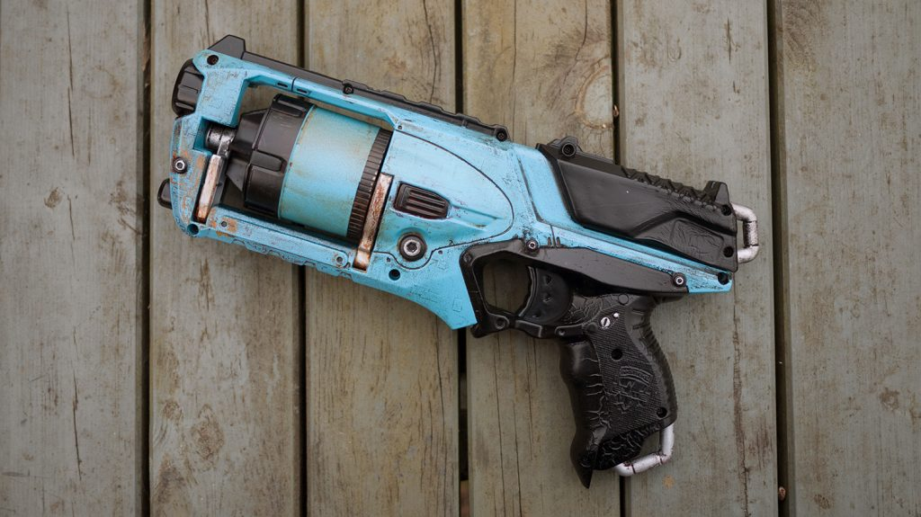 Custom painted Nerf Strongarm