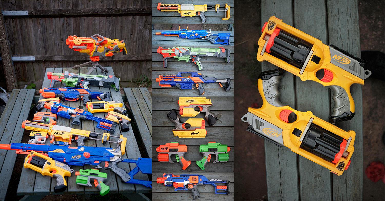 The Nerf Arsenal
